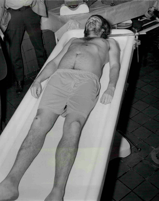 Body of Indian Al Norangelli