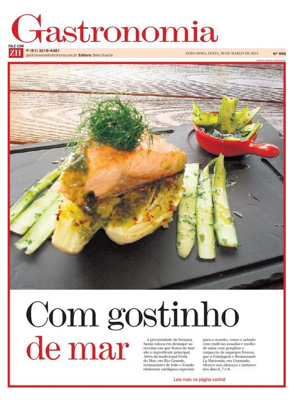 Gastronomia Zero Hora