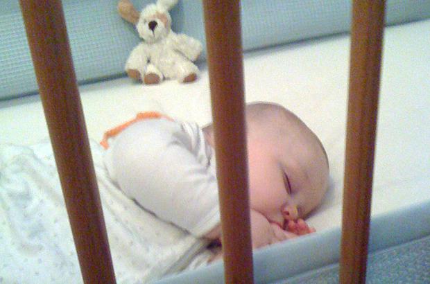 Jacob getting a good nights' sleep