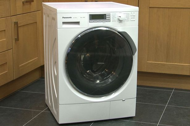 The very user friendly Panasonic NA-148VX3WGB washing machine