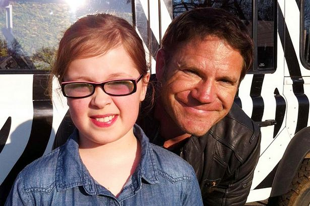 Amber with Steve Backshall