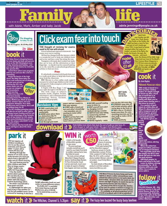 Published in The Sunday People, May 13, 2012
