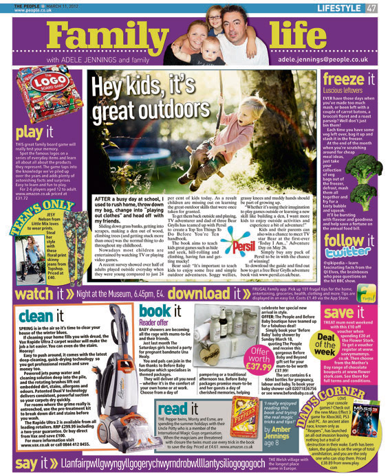 Published in The Sunday People, March 11, 2012