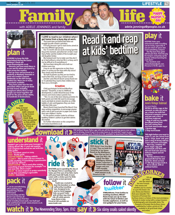 Published in The Sunday People, March 18 2012