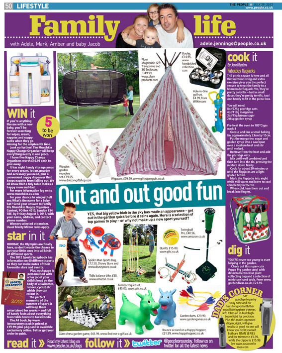Published in The Sunday People, July 29, 2012