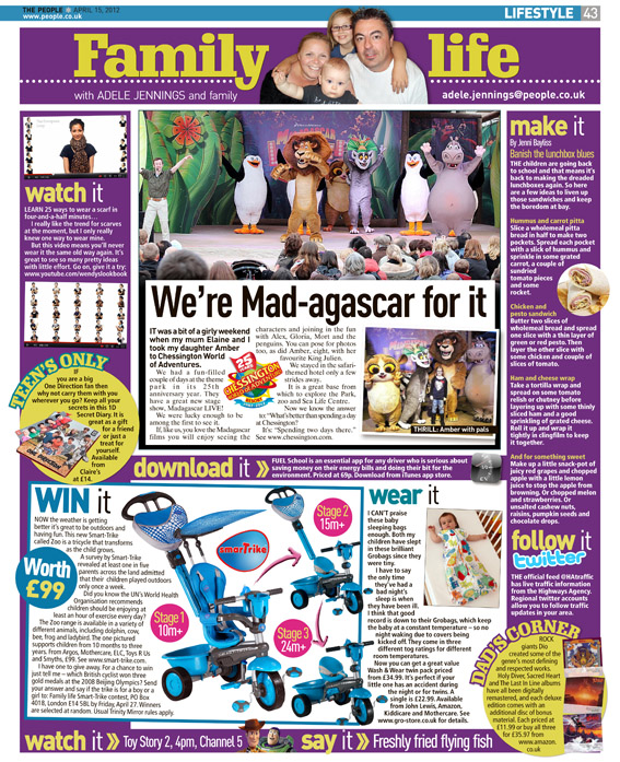 Published in The Sunday People, April 15, 2012