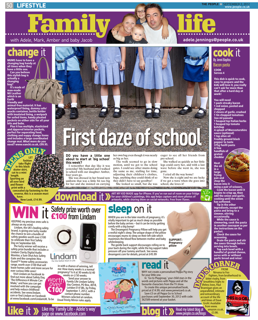 Published in The Sunday People, September 2, 2012