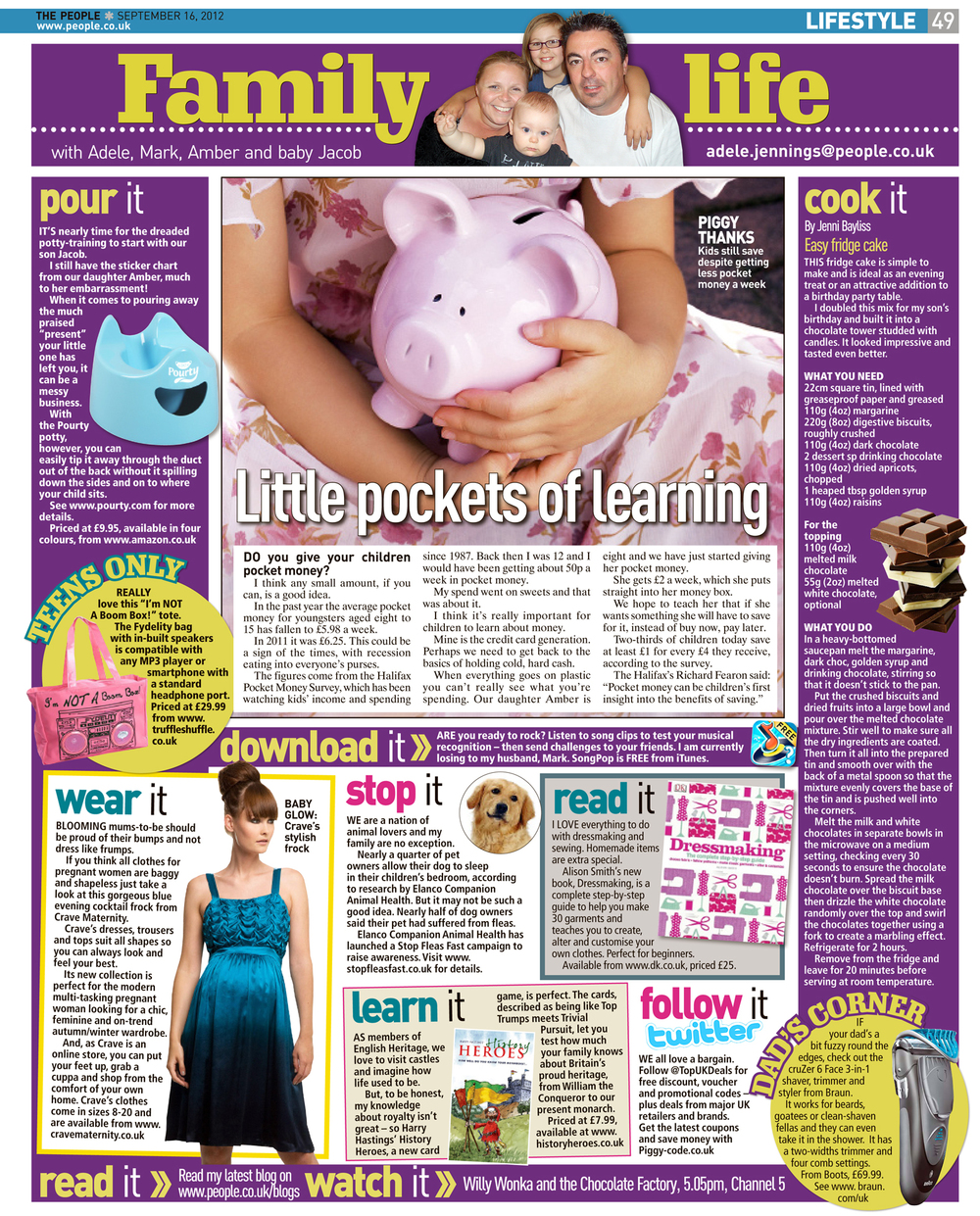 Published in The Sunday People, September 16, 2012