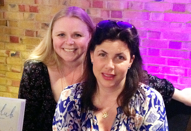 Adele with Kirstie Allsopp