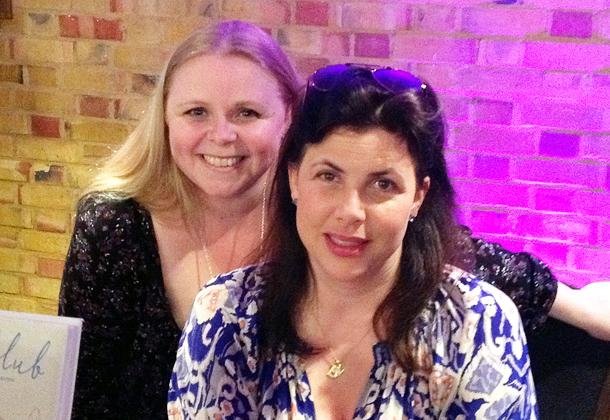 Adele with Kirstie Allsopp