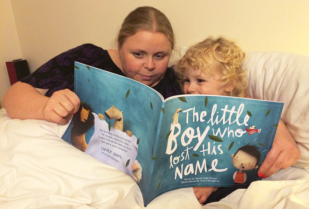 Favourite time of the day, bedtime story!