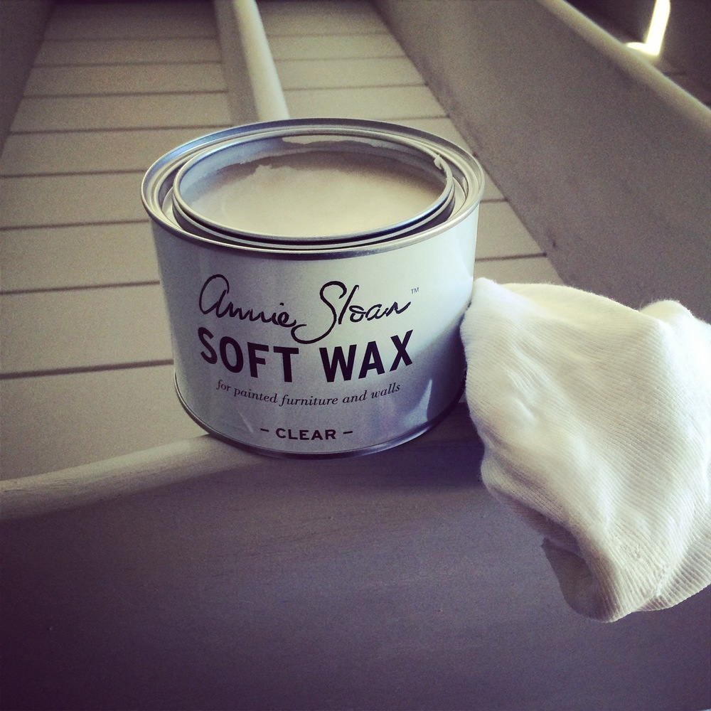 The Soft Wax in clear from Annie Sloan's range