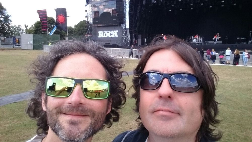 Andy and Mark at the Ramblin' man Fair