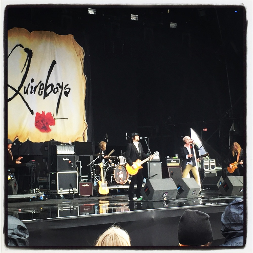 A pleasant surprise: The Quireboys
