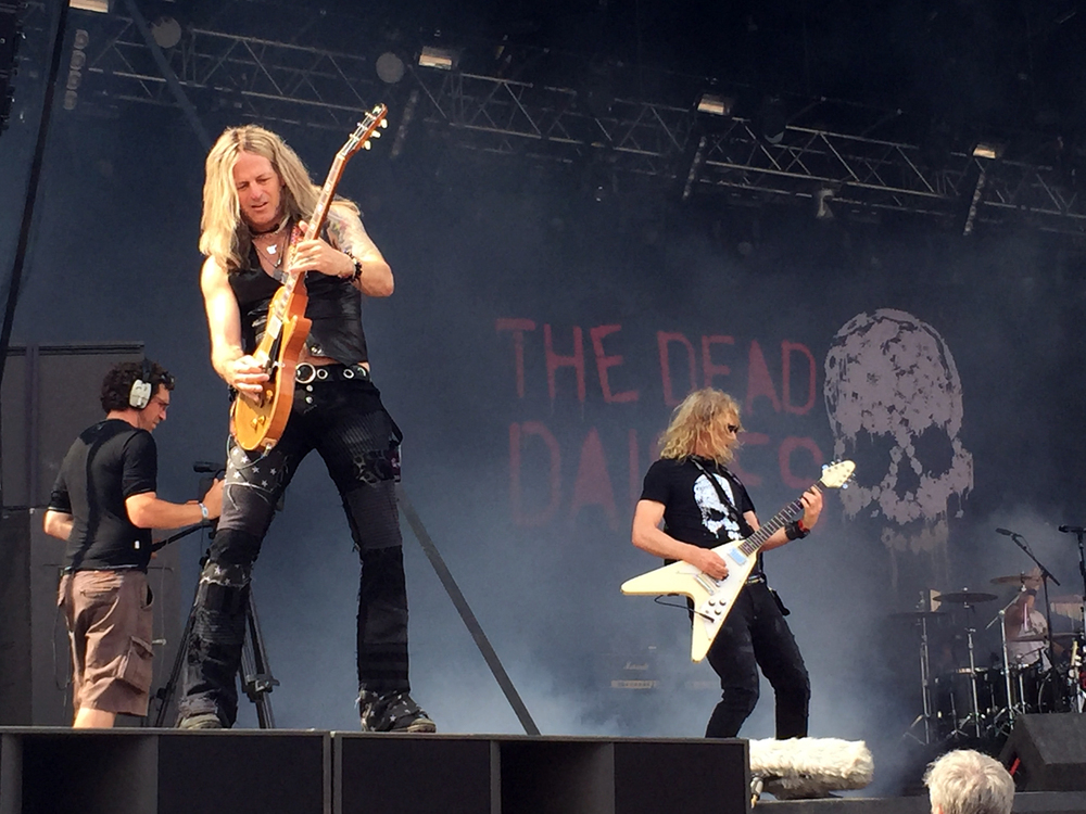 The Dead Daisies with a new line-up at Ramblin' Man Fair