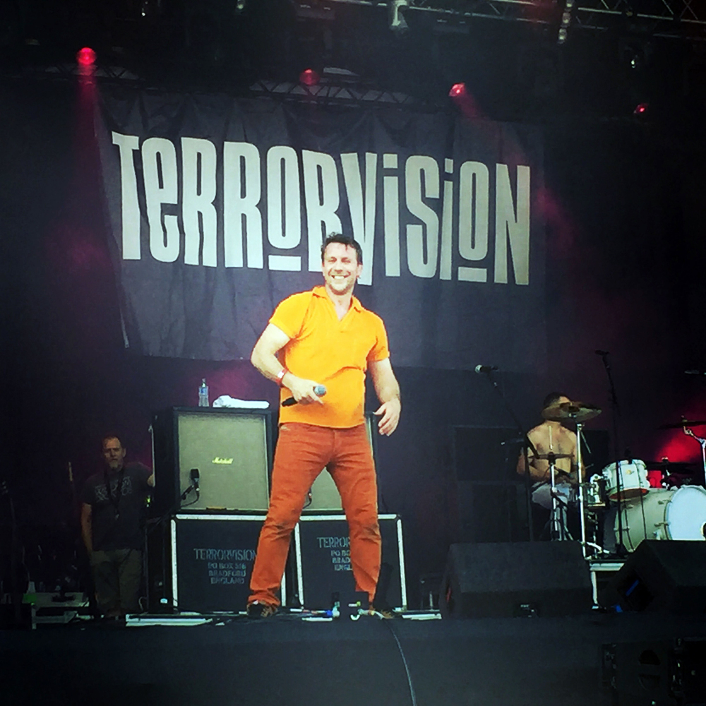 Haven't seen Terrorvision for over 20 years. It was great to see them again at Ramblin' Man Fair