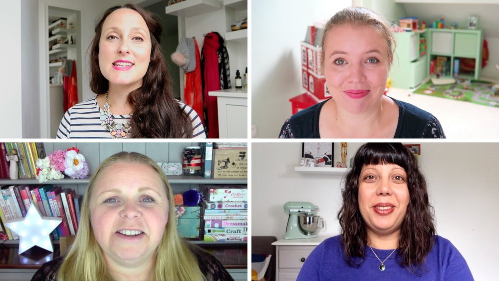 Taking part in the Mumsnet video from mums to new mums