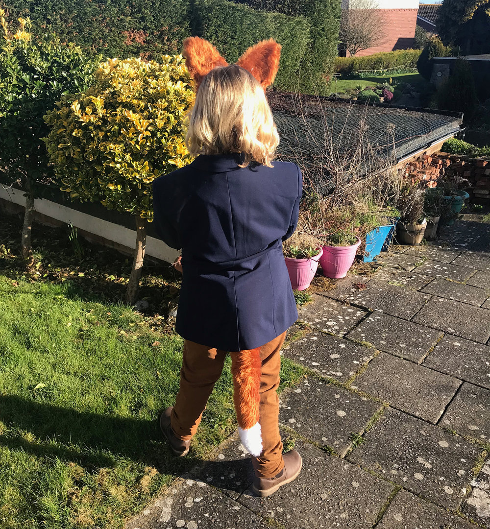 Very pleased with how the Fantastic Mr Fox for World Book Day turned out.