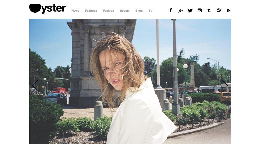 Kay Frank - Oyster Mag