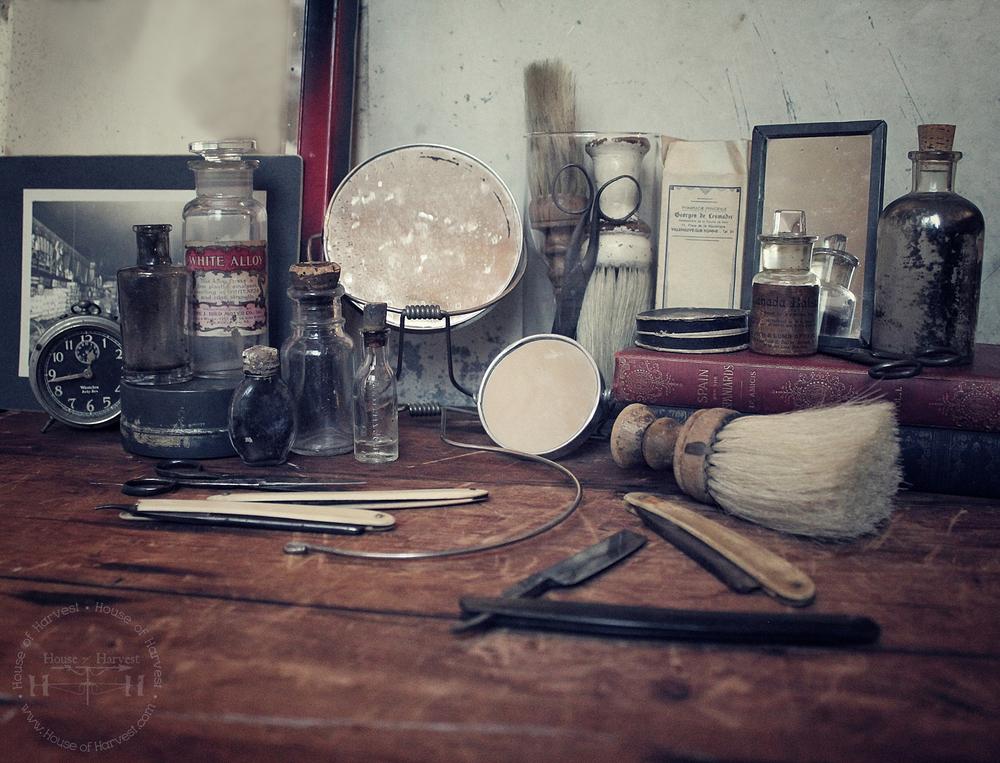 Vintage Barbershop Barber Vintage ...