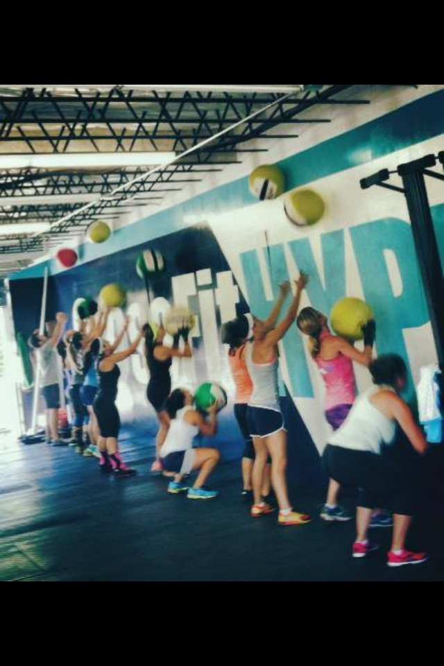 CrossFIt HYPE East Boca Raton Fitness Gym Mizner Park Palmetto Beach wall ball biathlon games endurance
