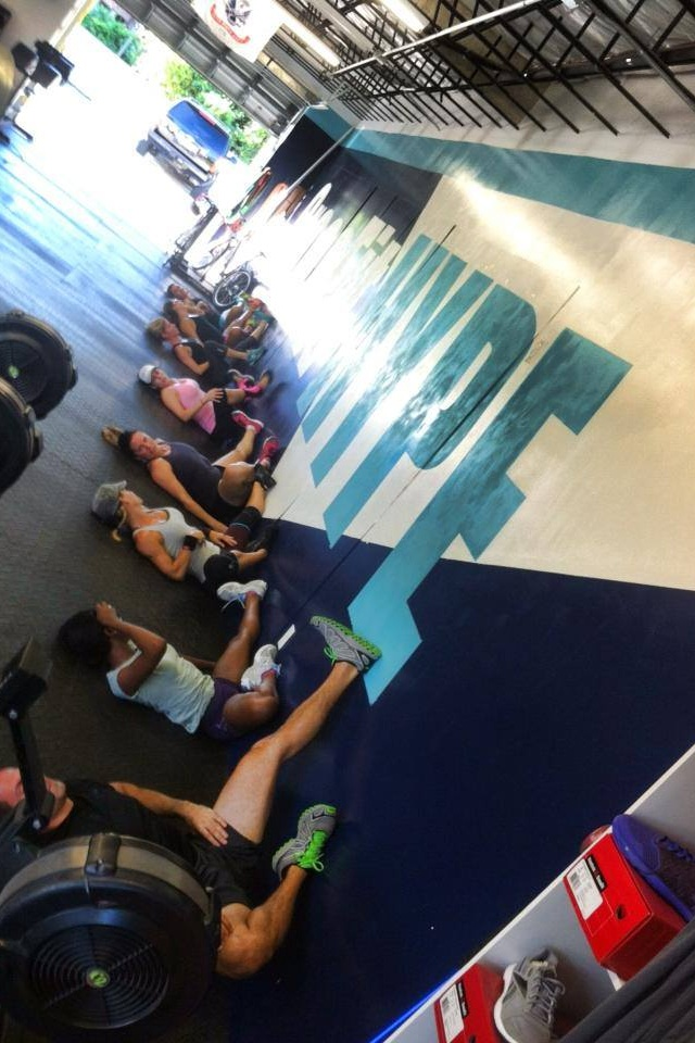CrossFit HYPE Mobility stretching yoga east boca raton mizner park fitness gym personal training