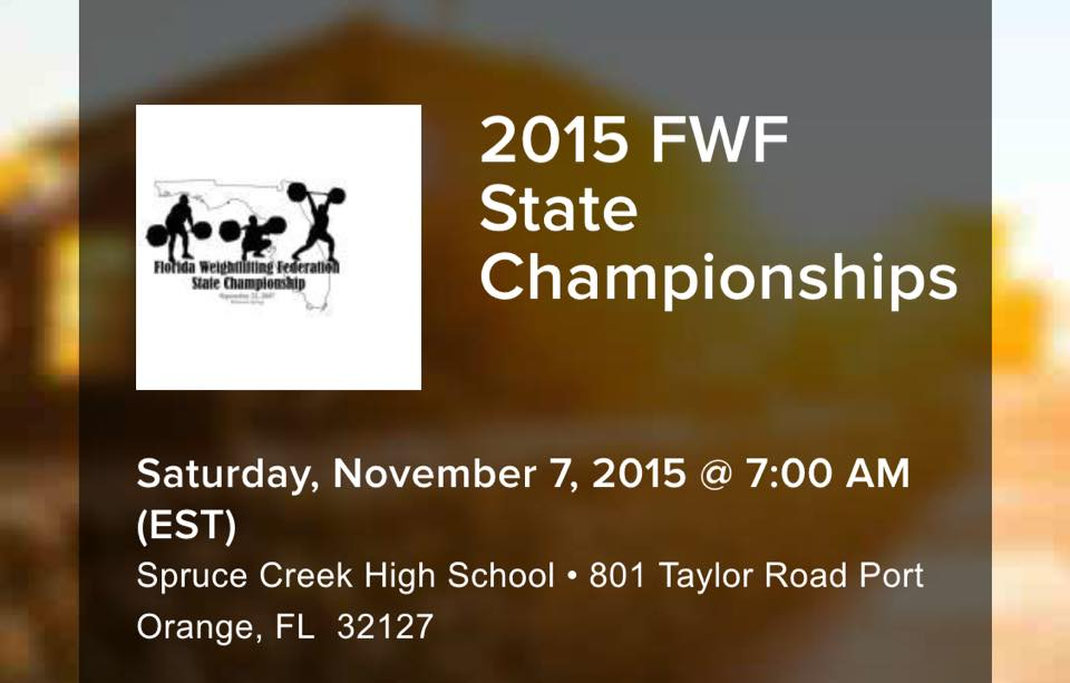 crossfit hype weightlifting fwf 2015 florida state championship weightlifting olymic lifting boca raton mizner park powerlifting