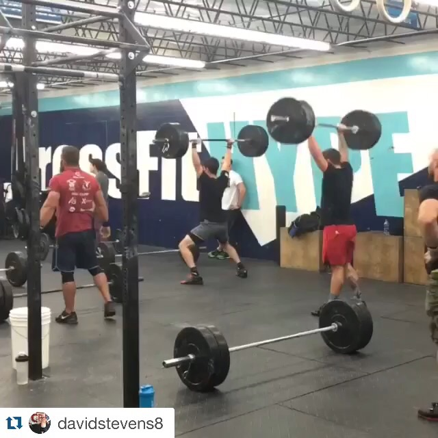 Video post @crossfithype on Instagram or www.facebook.com/CrossFitHYPE