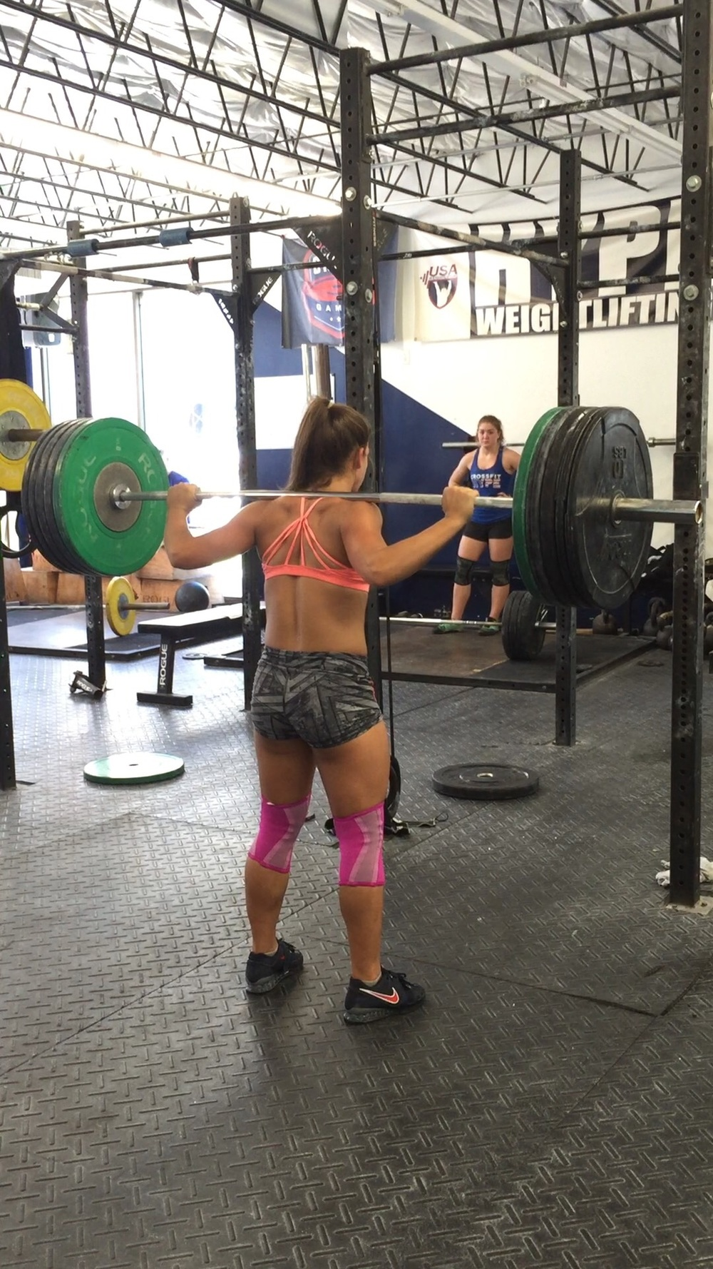 Kaela Stephano, 15 year old CrossFit games athlete, video posted at www.facebook.com/crossfithype