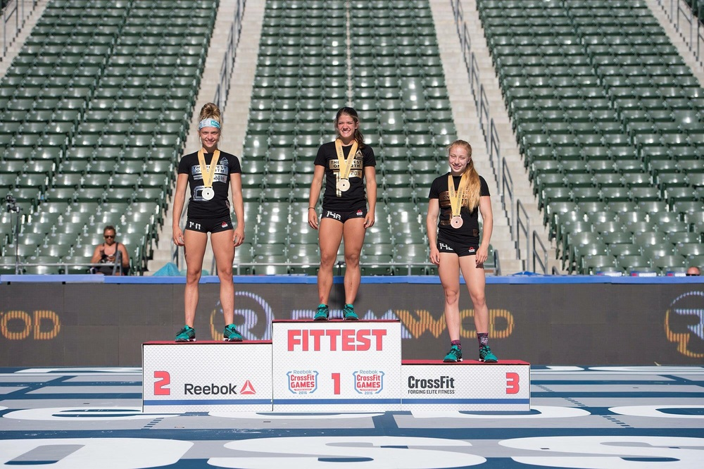 Kaela Stephano CrossFit Games teens Champion.