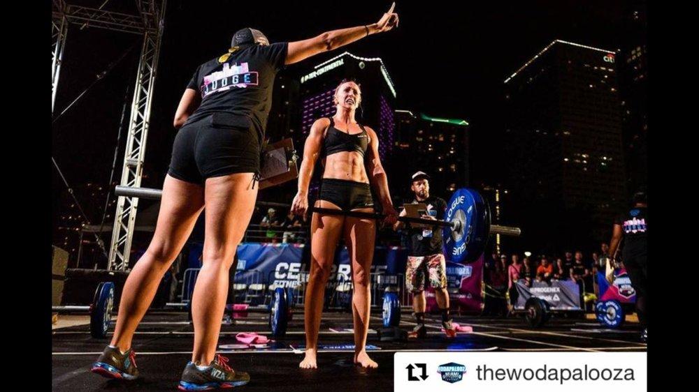 Tara Demers Wodapalooza fitness festival competitor in Miami