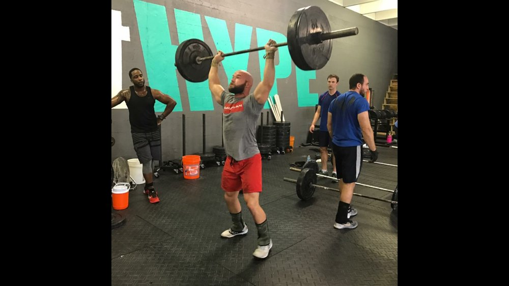 David Stevens - pro crush games competitor - CrossFit HYPE