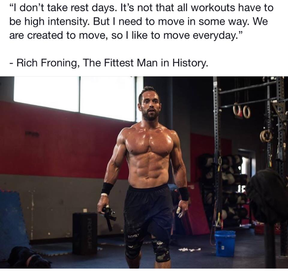 Rich Froning - fittest man in history