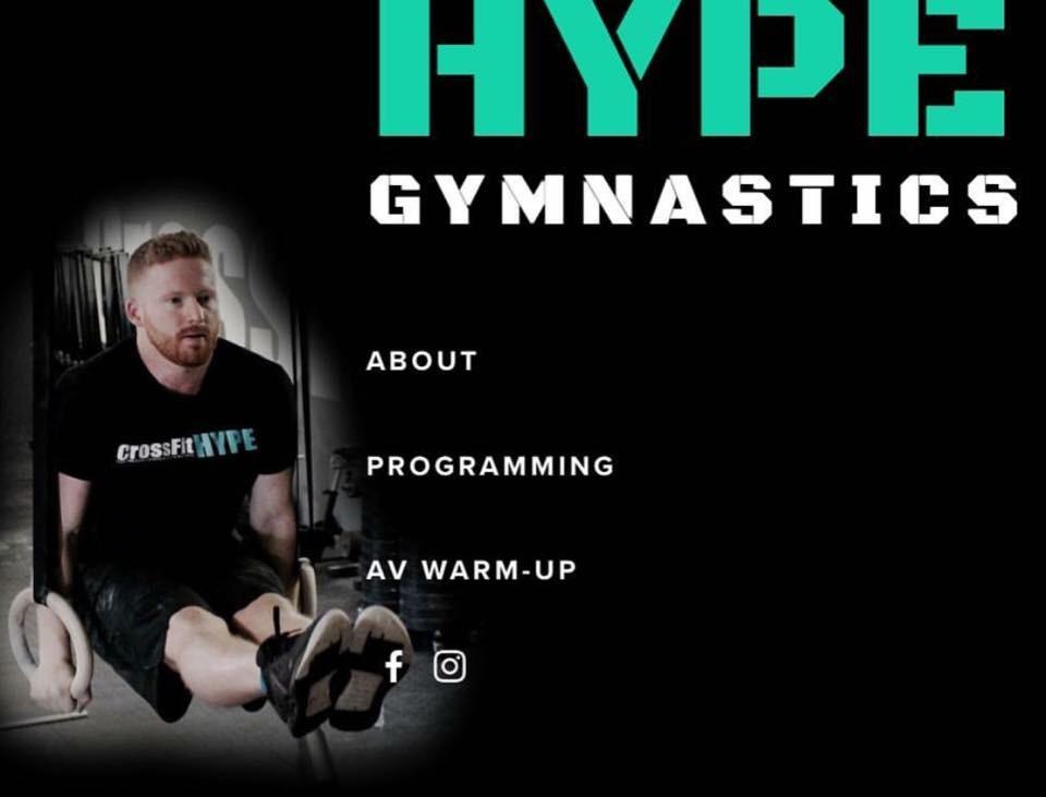 HYPE gymnastics - Coach Matt Thomas