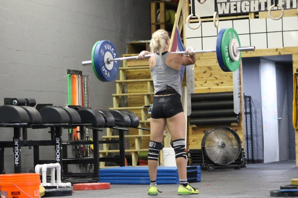 Tara Demers (63kg) - HYPE weightlifting athlete/ CrossFit hype coach- Boca Raton