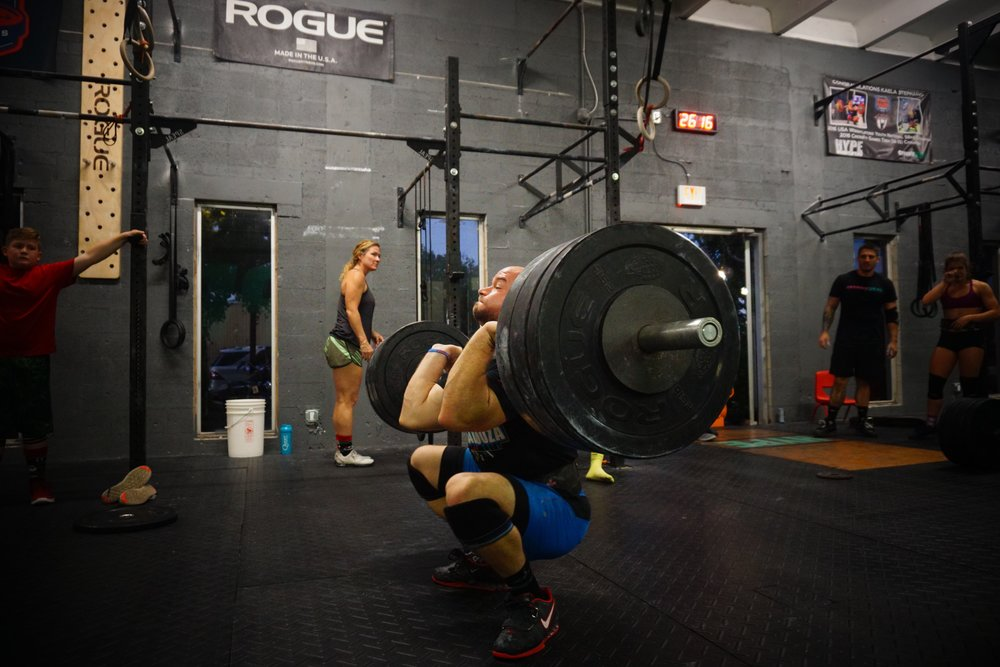 David Stevens - CrossFit HYPE coach / athlete