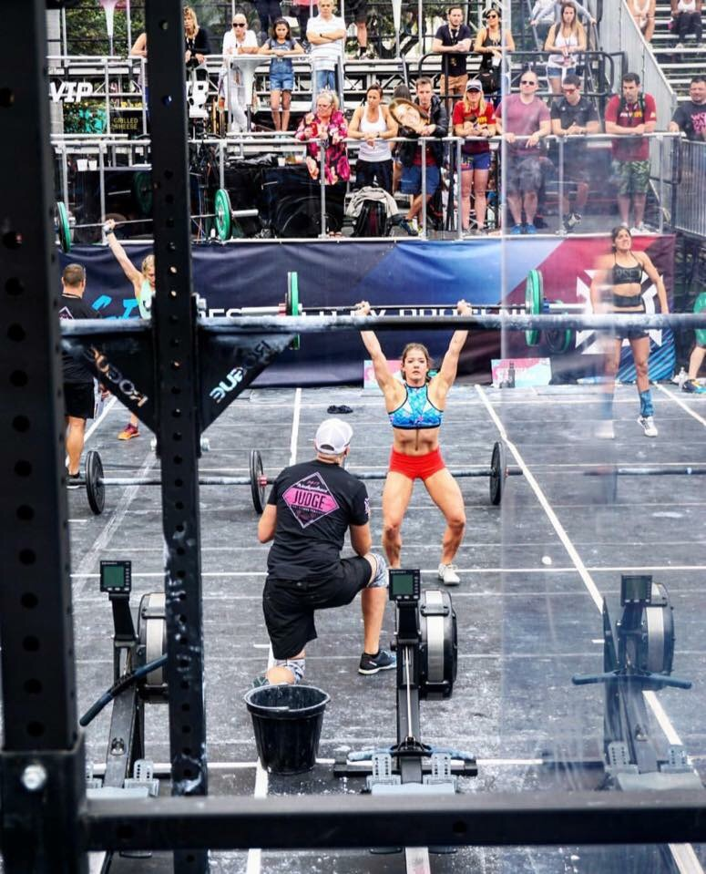 Kaela Stephano- Teen CrossFit Games Champion