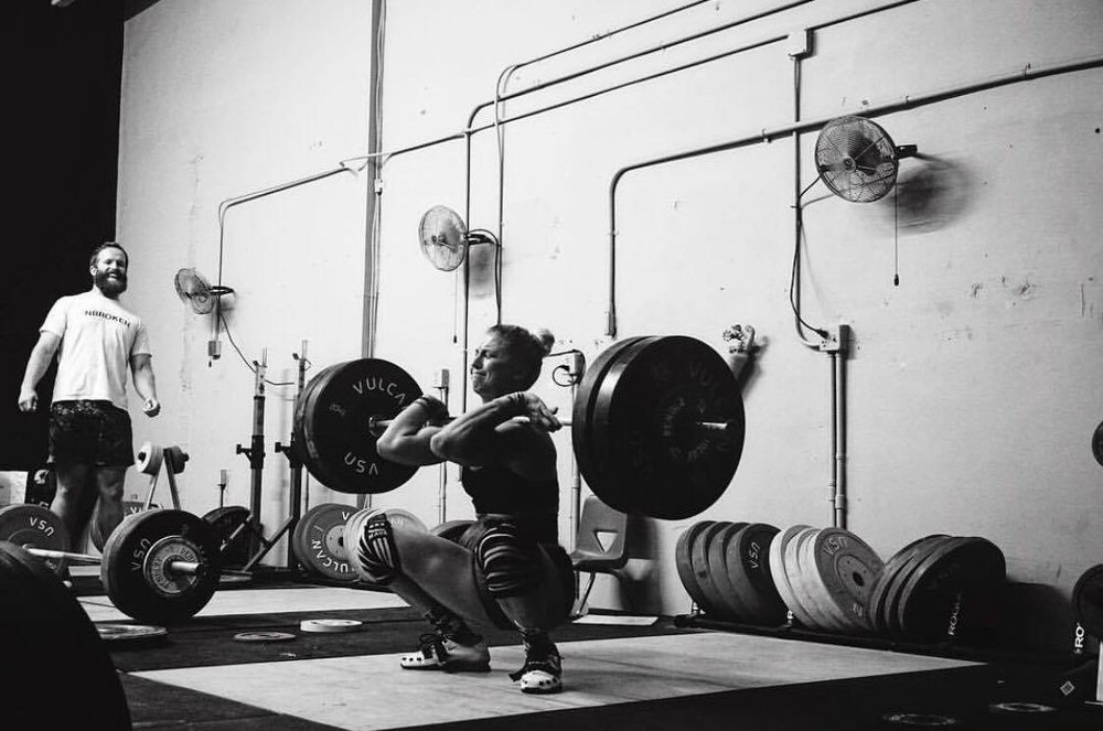 Tara Demers Coach Rob Thomas HYPE weightlifting olympic lifting crossfit powerlifting boca raton fitness strength
