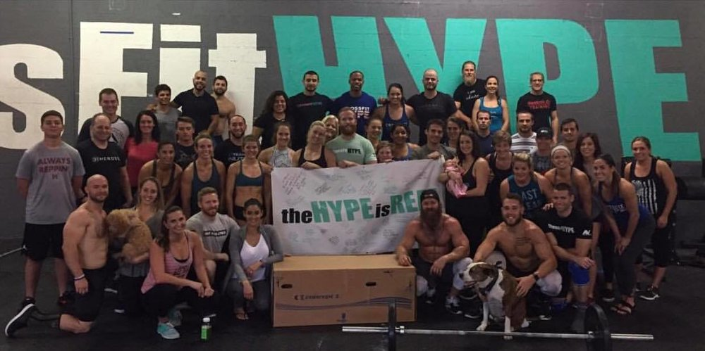 CrossFit HYPE Fitness east boca gym mizner park palmetto beach family community love sweat