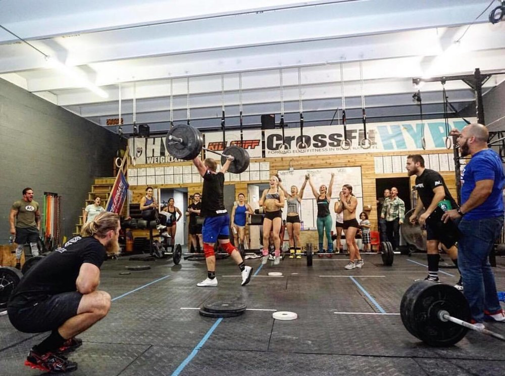CROSSFIT HYPE THE TAKEOVER crossfit OPEN Rob Thomas fitness gym