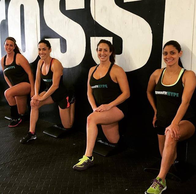 CrossFit HYPE ladies boca raton fitness gym girls women who lift