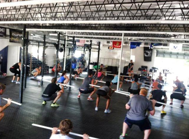 CrossFit HYPE Fundamentals Fitness Gym weightlifting East Boca Raton Mizner Park Palmetto Beach Fit