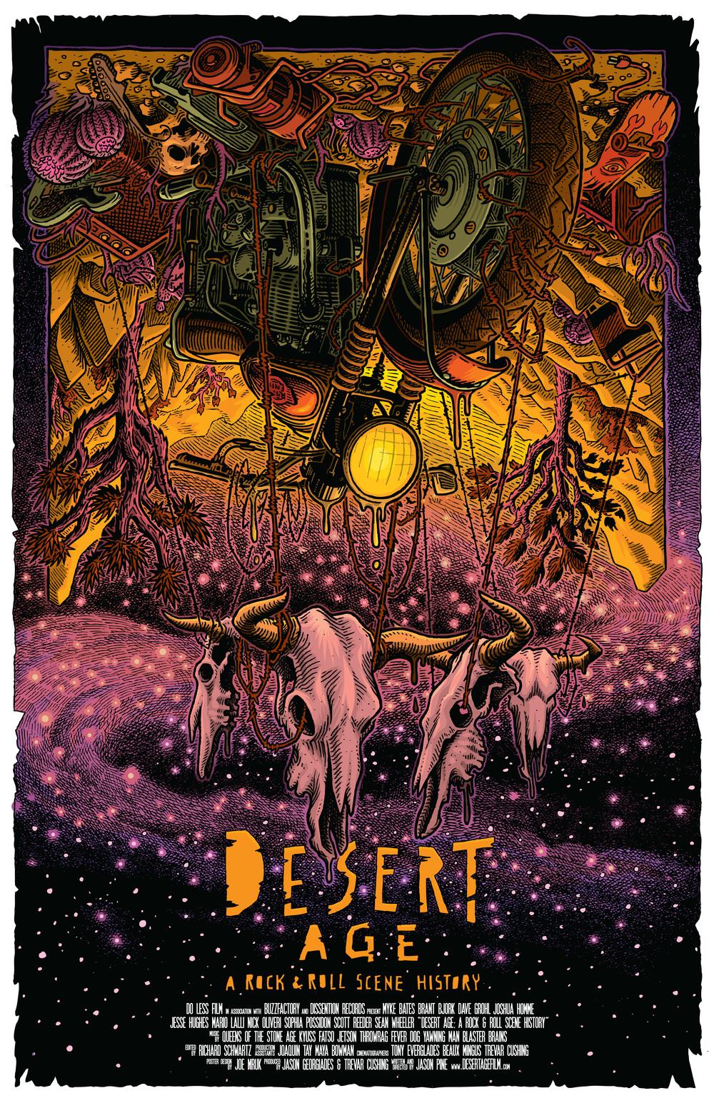 Joe Mruk - Desert Age : A Rock 'n Roll Scene History