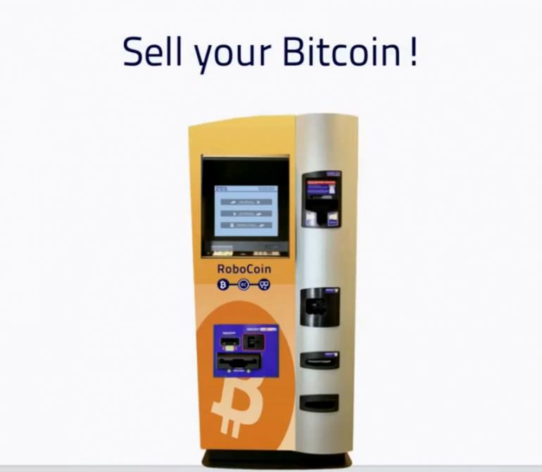Bitcoin ATM by RoboCoin