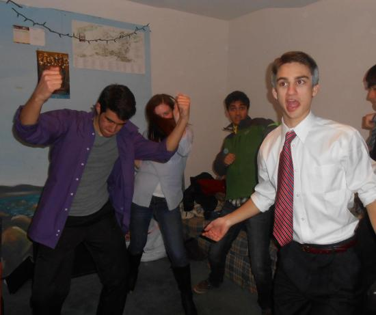 EVERYBODY.DANCE.NOW. It's OK Mitt. I don't understand kids today either.