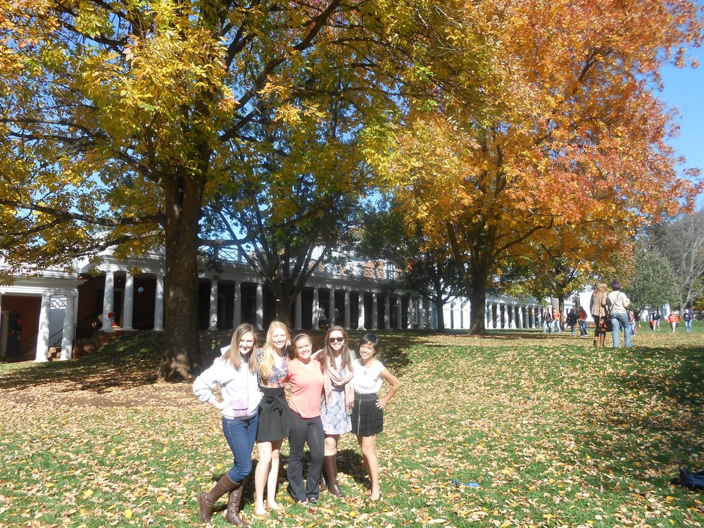 Beautiful fall at UVa
