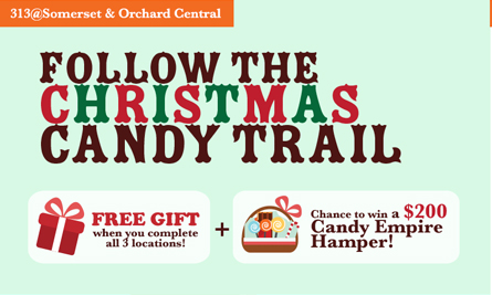 Christmas Candy Trail