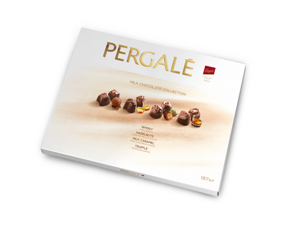 Pergalė Milk Chocolate Collection