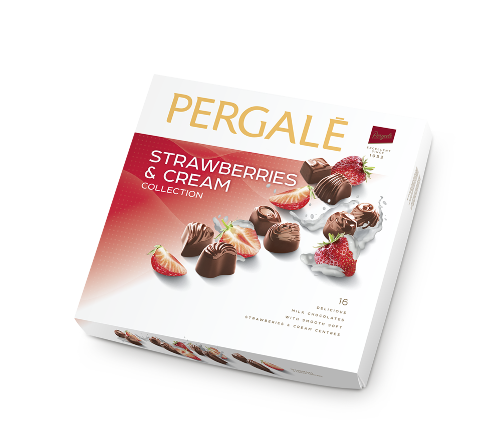 Pergalė Strawberries & Cream Collection