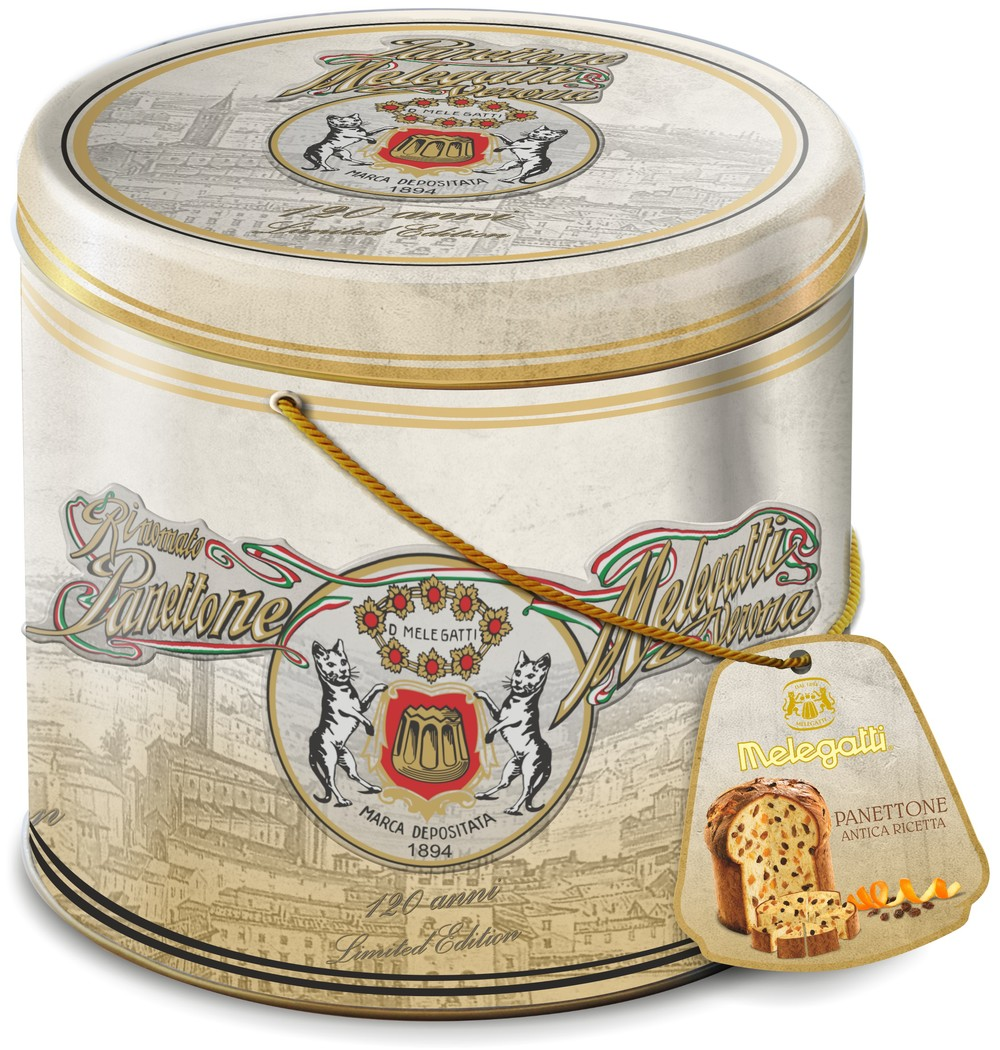 Melegatti Panettone in Latta Celebrativa